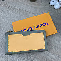 Бумажник Louis Vuitton Zippy Vertical Monogram Titanium