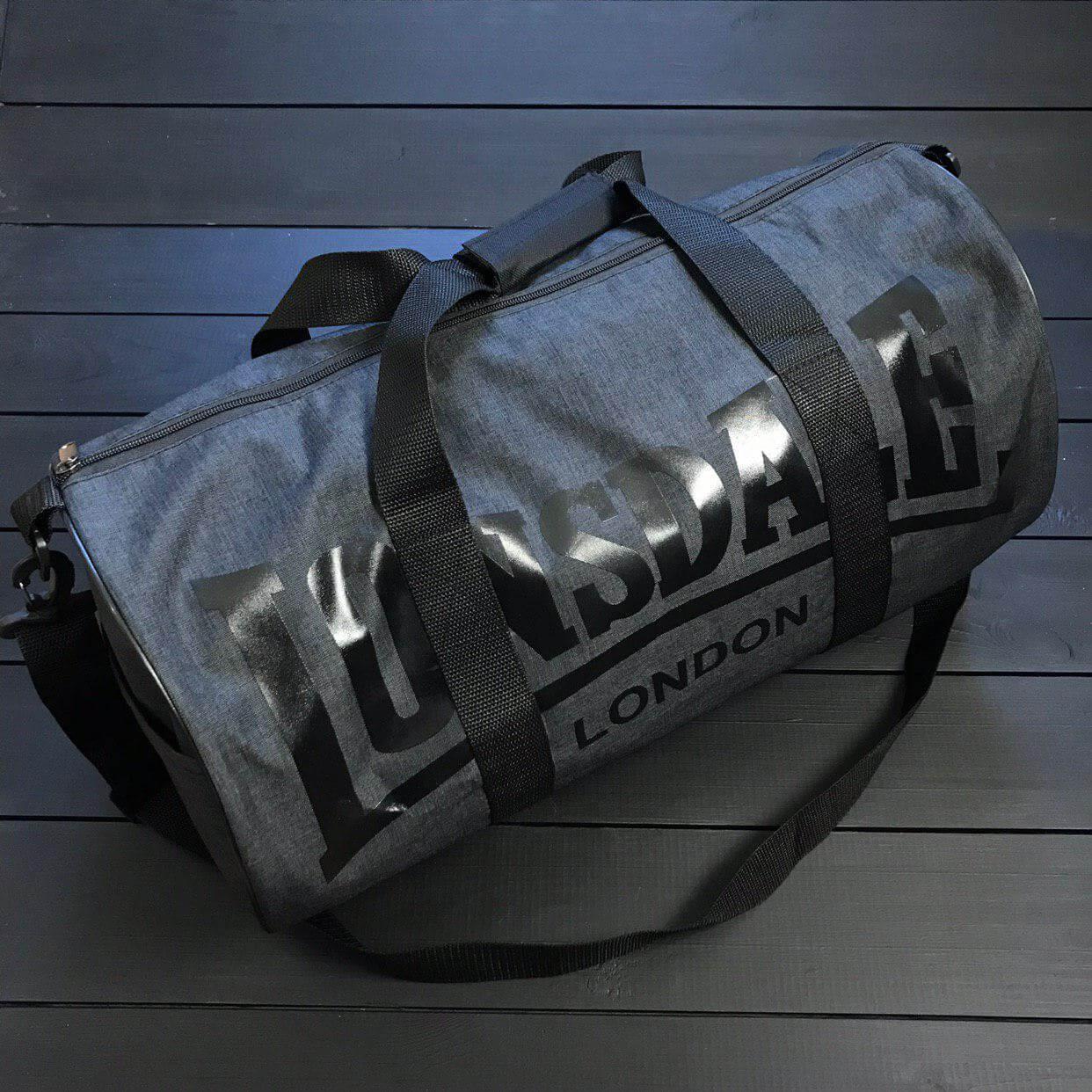 460d946c Недорогая спортивная сумка Lonsdale темно-серого цвета - Интернет магазин  обуви «im-РоLLi
