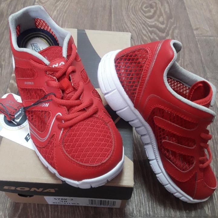 Кросівки Bona р. 37 сітка червоні