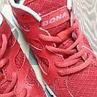 Кроссовки Bona сетка красные размер 37, фото 5