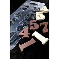 Пластиковая форма для шоколада