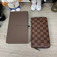 Бумажник Louis Vuitton Zippy Vertical Damier Ebene, фото 1