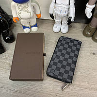 Бумажник Louis Vuitton Zippy Vertical Damier Graphite, фото 1
