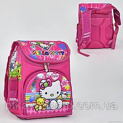 """Рюкзак школьный """"Hello Kitty"""" 2 кармана, спинка ортопедическая N 00125"""