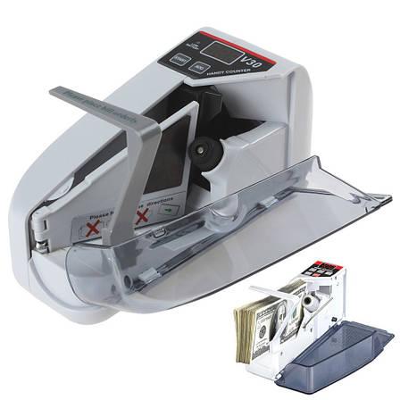 Машинка для счета денег Handy Counter V30 ручная Батарейки/220 V, аппарат для счета денег, счетный аппарат, , фото 2