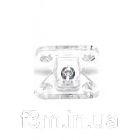 Стяжка угловая F3M BUTTERFLY, пластик - прозрачный