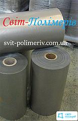 Полотно полиэтиленовое вторичное 2с СЕРОЕ - 400 мм, 100 мкм, 650 м.п.
