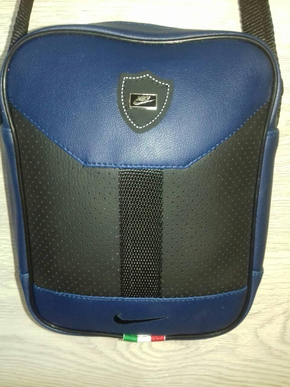 Мужская сумка nike барсетка спортивная через плечо оптом