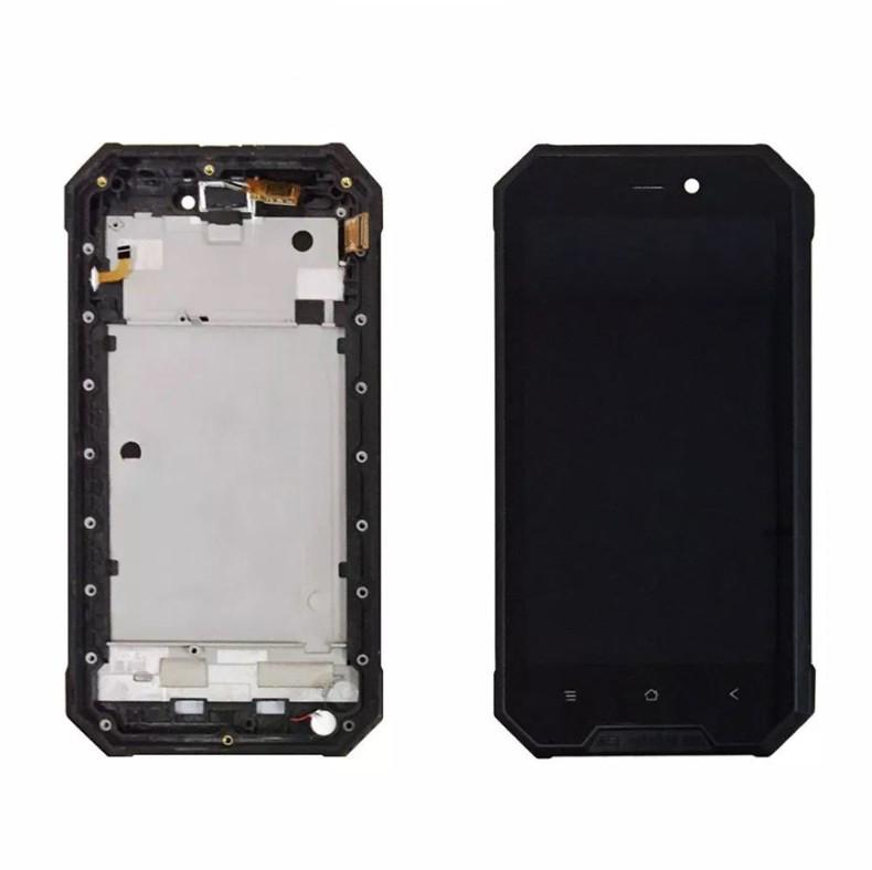 Дисплей + Сенсор для Blackview BV4000 + Рамка черный