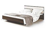 Кровать 2-сп 1,6 м Мария Дуб борас/Белое золото (Світ Меблів TM)