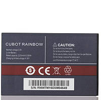 Аккумулятор для мобильного телефона Cubot Rainbow, (Li-ion 3.8V 2200mAh)