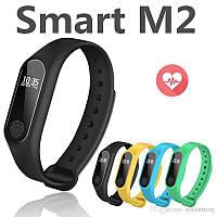Фитнес браслет Mi Band M2 Bluetooth Black, Smart Band M2, фитнес часы, фитнес трекер, шагомер, пульсометр