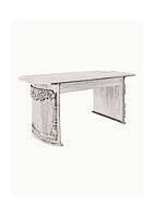 Стіл столовий класика, перлина (186*74,5*90cм)