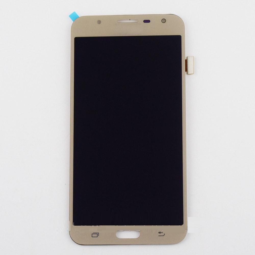 Дисплей Samsung J701 Galaxy J7 Neo (2017) TFT регулируемая подсветка + сенсор золотой