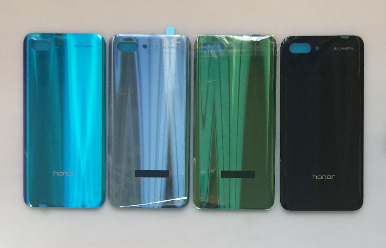 Задняя крышка Huawei Honor 10 (COL-L29) чёрная, Midnight Black