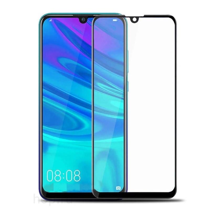 Защитное стекло Huawei Y6 2019, Y6 Pro, Honor 8A (2019) 5D чёрное