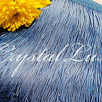 Бахрома 15см Sky blue 1м