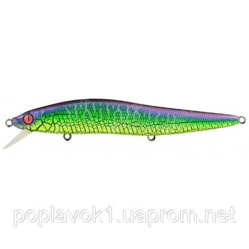 Воблер Megabass Vision OneTen LBO 115мм/14г (Mat Green Lizard)