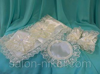 Набор для венчания айвори. Венчальный набор