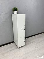 Шкафчик на два отделения. Модель V461 белый, фото 1