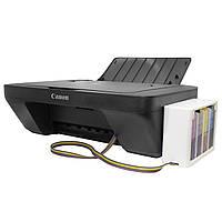 Полное решение: МФУ CANON E414 + СНПЧ Черный Печать фото текста студия принтер сканер копир подарки