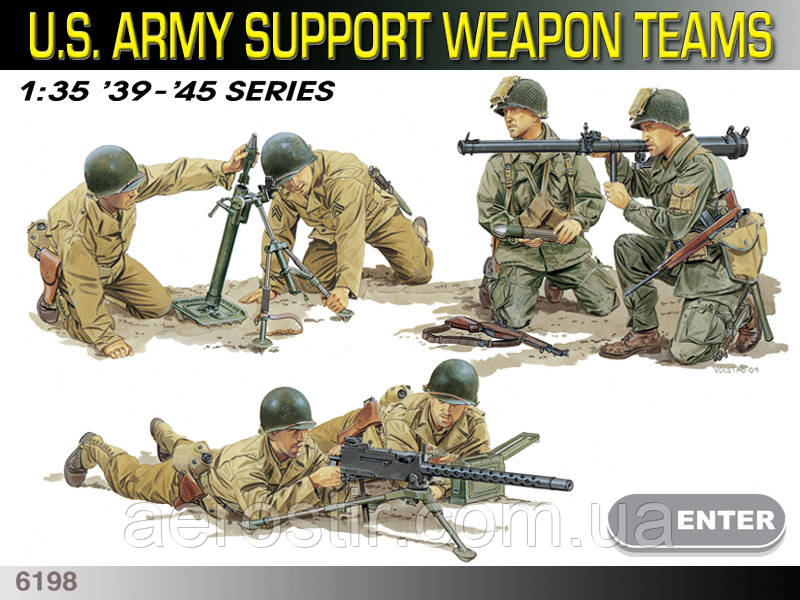 US Army Support Weapon Teams 1/35 Dragon 6198