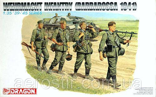 Wehrmacht Infantry (Barbarossa 1941) 1/35 Dragon 6105