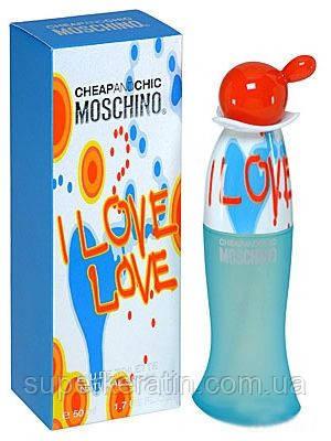 Женская туалетная вода Moschino Cheap and Chic I Love Love (Москино Чип энд Чик Ай Лав Лав) - Cocochoco в Киеве