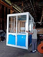 Шумоизоляционная кабинка с установленным кондиционером