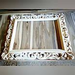 Зеркало настенное в  резной черной раме , Z-18106, фото 4