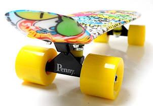 Пенни борд Penny 22″ с рисунком Graffiti Inscription, фото 2