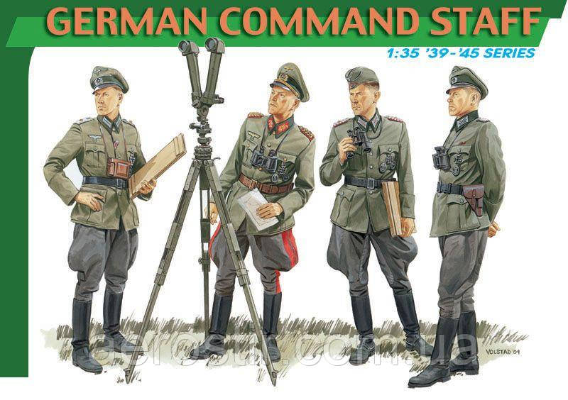 GERMAN COMMAND STAFF 1/35 Dragon 6213