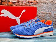 ✅ Спортивные женские кроссовки Puma Narita Пума Нарита Оригинал для бега синие 38 - 24.5 см