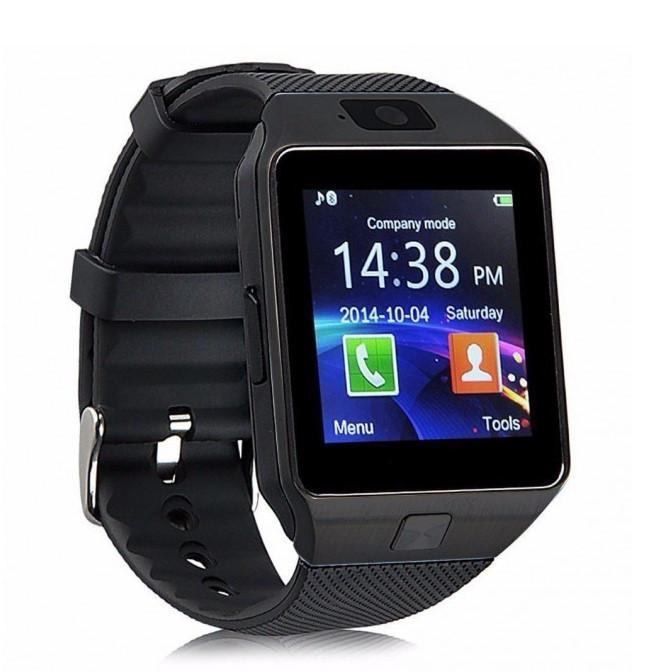 Умные смарт часы Smart Watch DZ09 мужские часы черные