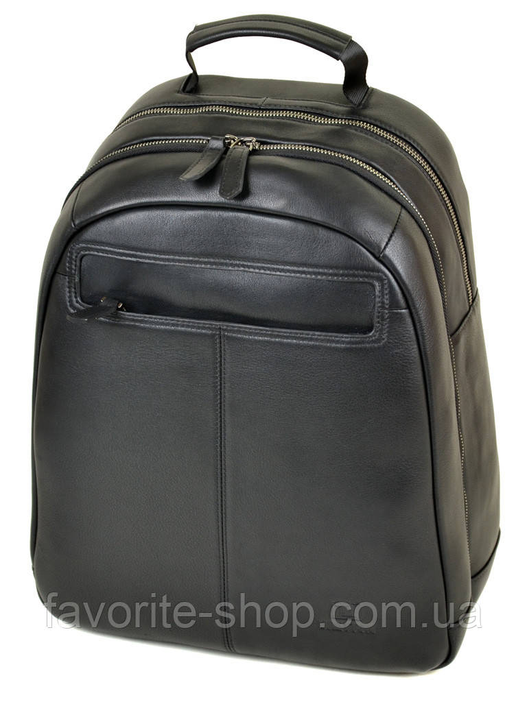 Рюкзак Городской кожаный BRETTON BE 8003-73 black