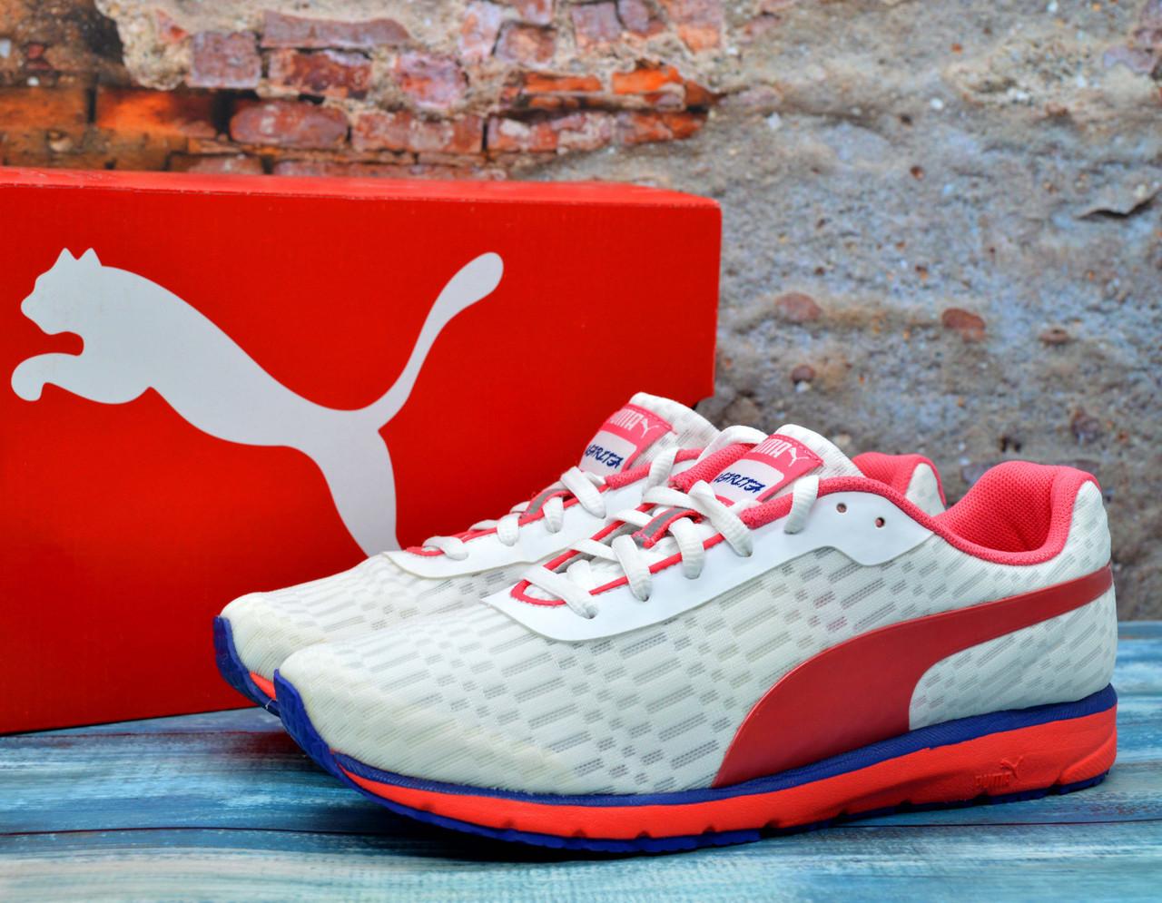 ✅ Спортивні кросівки Puma жіночі Narita Пума Наріта Оригінал для бігу білі 38 р