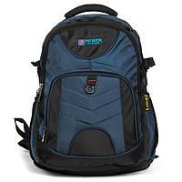 Рюкзак Міський нейлон Power In Eavas 8514 black-blue, фото 1