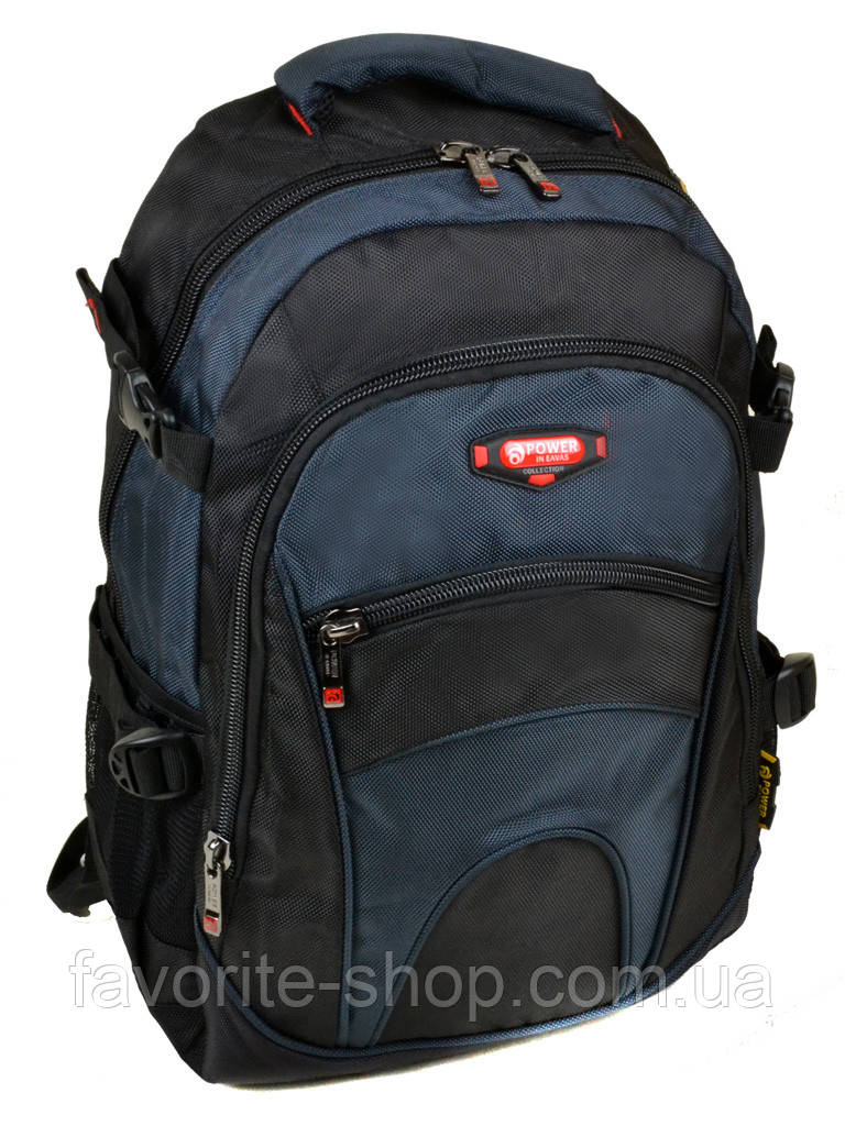 Рюкзак Городской нейлон Power In Eavas 9609 black-blue