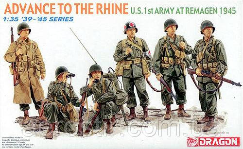 Advance to the Rhine (1st Army, Remagen, 1945).1/35 Dragon 6271