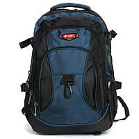 Рюкзак Міський нейлон Power In Eavas 9618 black-blue, фото 1