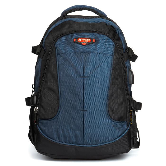 Рюкзак Городской нейлон Power In Eavas 9648 black-blue
