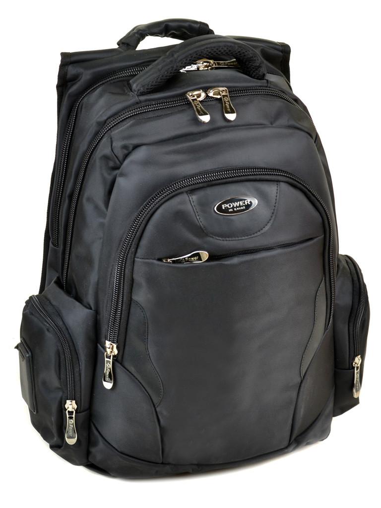 Рюкзак Городской нейлон Power In Eavas 9902 black Распродажа
