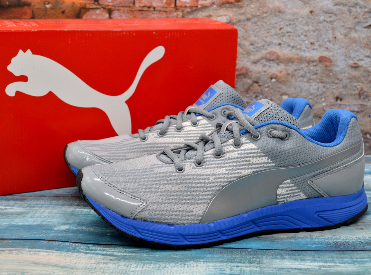 ✅ Спортивные кроссовки мужские Puma Sequence Пума для бега Оригинал белые 42 р - 27 см