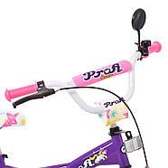 Велосипед детский PROF1 18 дюймов T1863 Original girl Гарантия качества Быстрая доставка, фото 3