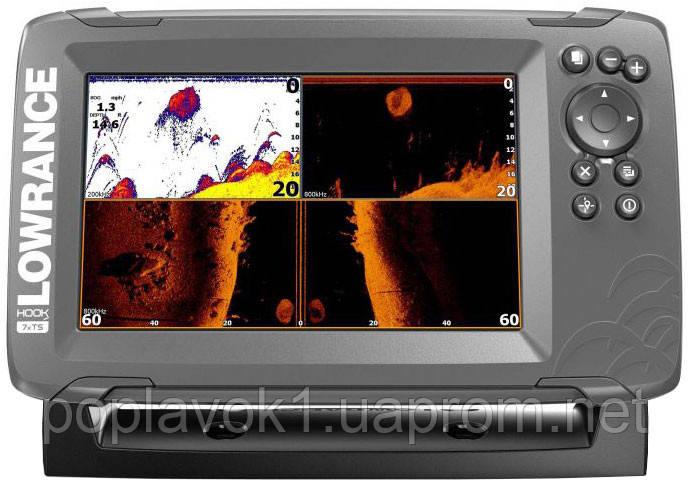 Эхолот Lowrance Hook 27x TripleShot GPS