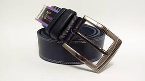 Стильний джинсовий ремінь  45 мм, темно- синій