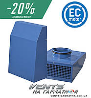 Вентс ВЦН 125 ЕС. Вытяжной центробежный вентилятор с ЕС-мотором