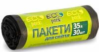 """Пакеты для мусора """"Eco Pack"""" 35 л 30 штук"""