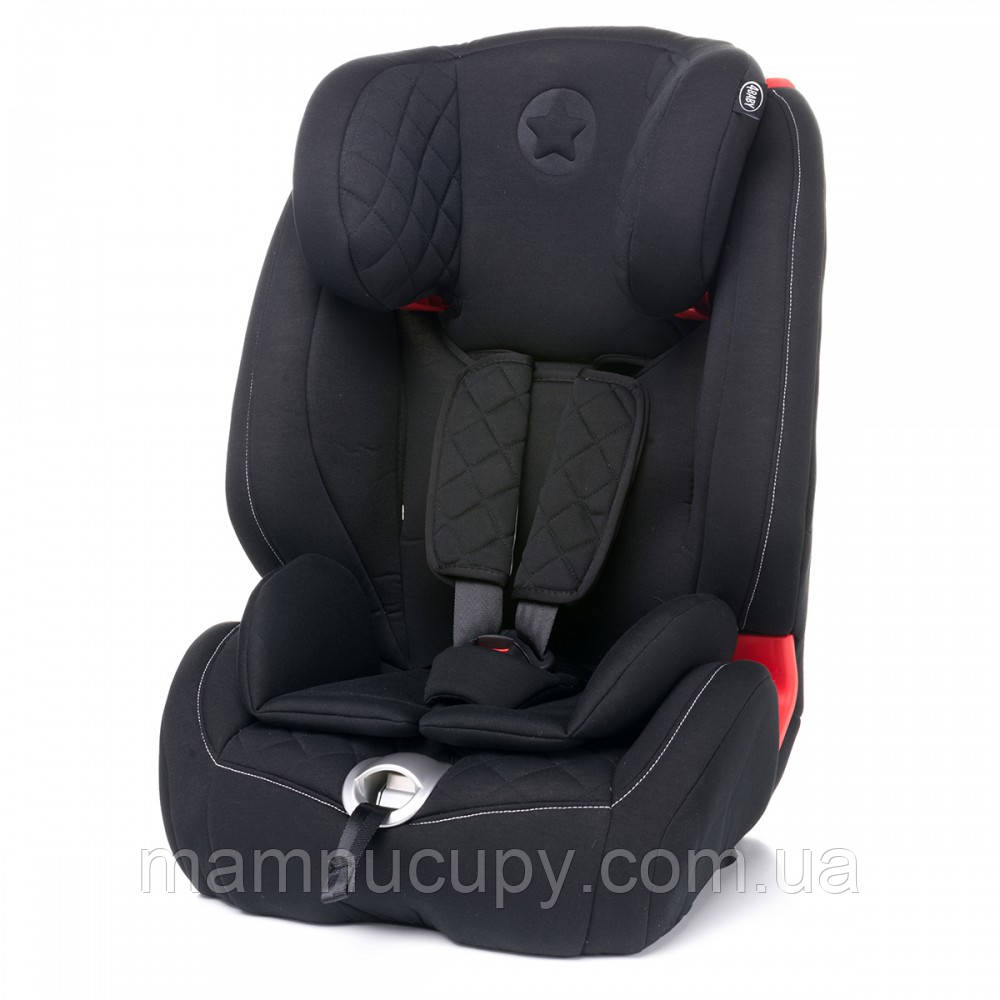Автокресло (1/2/3) 4baby (Star-Fix) Black