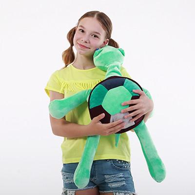 Антистрессовая игрушка «Черепаха Грини»(большая) 60х60 см.